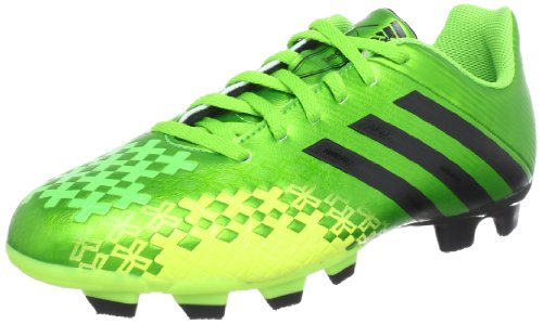 adidas Performance Predito LZ TRX FG Q21649, Herren Fußballschuhe, Grün (RAY GREEN F13 / BLACK 1 / ELECTRICITY), EU 45 1/3 (UK 10.5)