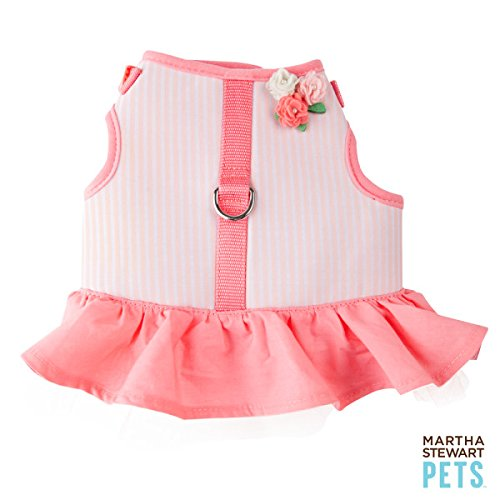 Martha Stewart Pets Dog Vest Harness Pink Size: Medium