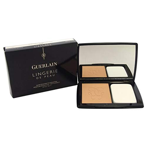 Guerlain Lingerie De Peau Nude Powder Foundation SPF 20 - # 03 Beige Naturel 10g/0.35oz ()