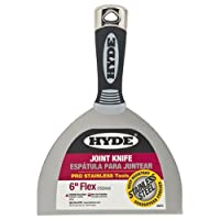 Deals on Hyde Tools 06878 Joint Knife Flexible 6-in Black