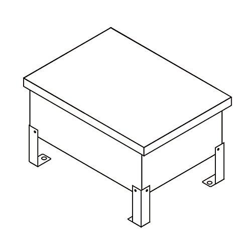 TOKISTAR 屋外用トランス収納ボックス TR-BOX-SUS B07DNNF9GZ