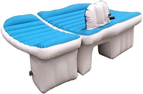 車用ベッド 車のエアベッド旅行と睡眠の休息のための多機能旅行キャンプ車の後部シートインフレータブルマットレス(空気ベッド×1ピロー×1エアーポンプ×1)
