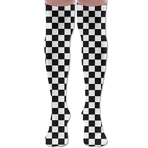 Unisex Knee-high Socks Sports Stockings Monochrome Pot Plants Patterned Football Socks (Plant Pots Buy To Where Online)