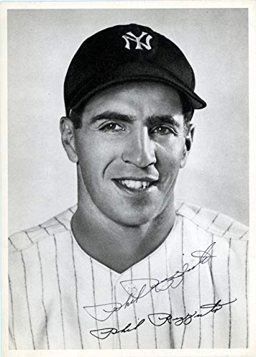 - Phil Rizzuto Autographed 6.5x9 Photo Picture Pack 1948 New York Yankees Beckett BAS #F98306