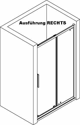 Puerta de ducha técnicos, técnicos ducha puerta corredera, 110 x ...