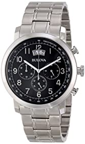 Bulova Men's 96B202 Stainless Steel Watch