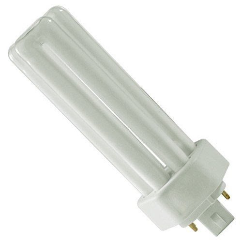 Pack of 10 PLT 32W GX24Q-3 835, 32 Watt Triple Tube, 4-Pin Compact Fluorescent Light Bulb