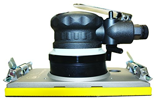 - Universal Tool UT8791 3/16-Inch Orbital Jitterbug Air Sander with 4-Inch by 6-Inch Pad