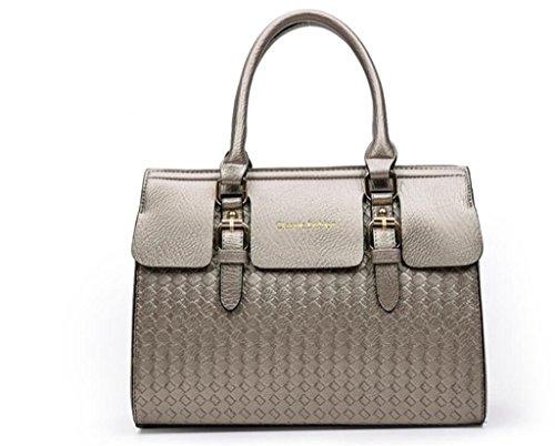 messaggero di della NVBAO del della della borsa del a lavoro signora pezzi acquisto grey borsa semplice cinque borsa della sacchetto multifunzionale di spalla colori Borsa Cinque qttPU