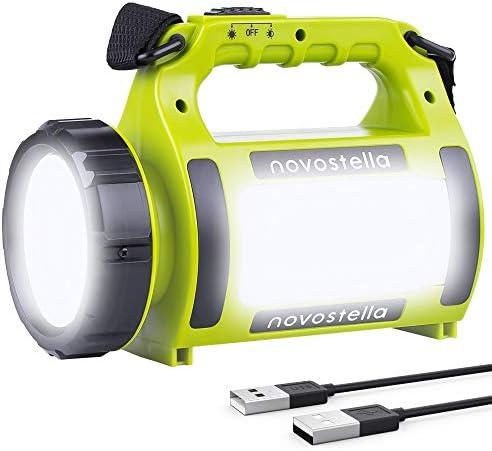 Étanche DEL Projecteur pêche USB Capteur Phare randonnée chasse camping