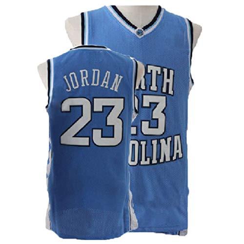 2eb721d2618 Men s North Carolina  23 Jerseys Basketball Jerseys Retro Jersey Blue(S-XXL)