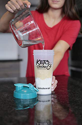 Keto Chow Keto Meal Replacement Shake: delicious, easy meals for keto diet, complete keto meal (Chocolate, 21 Meals)