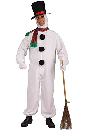 [Mememall Fashion Plush Santa Frosty Snowman Adult Costume] (Legend Of Sleepy Hollow Costumes)