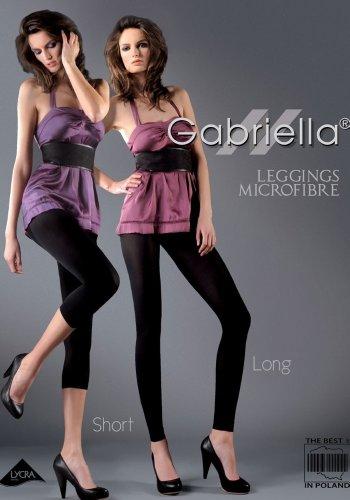 LUNGHI Leggings MICROFIBRA Gabriella Inchiostro in BzqqWrAF
