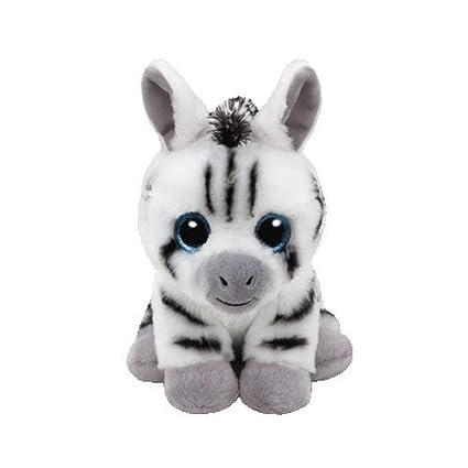 c5fe263410d Amazon.com  Ty- Beanie Boo-Stripes 15 cm  Toys   Games