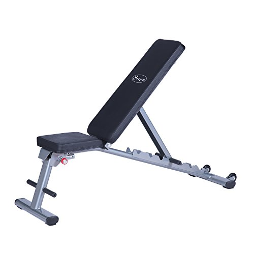 Soozier Seven-Position Adjustable Foldable Weight Bench by Soozier