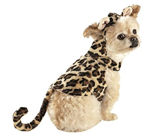 TARGET Cheetah Hoodie Dog Can Pet Costume (Extra Small) -