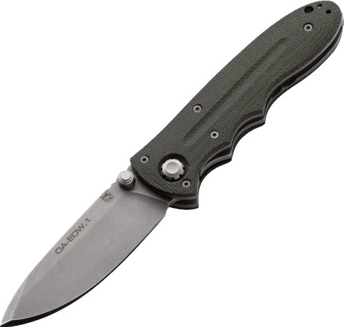 Boker 110626 Oberland Arms EDW Knife with 3-3 8 N690 Steel Blade