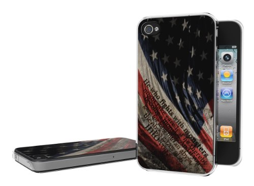 Master Case - Coque iPhone 4/4S Drapeau Grunge - US Trash