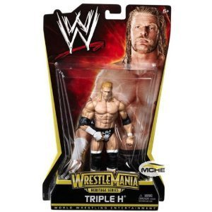 WWE Triple H WrestleMania Heritage Figure - PPV Series #7 by Mattel