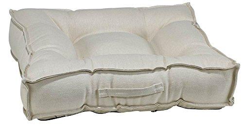 Bowsers Piazza Dog Bed, X-Large, Hemp Natural