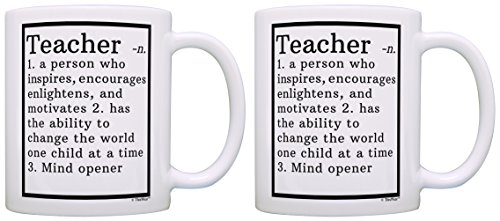 Teacher Appreciation Gifts Teacher Definition Math Teacher Gifts Drama Teacher Gifts Music Teacher Gifts 2 Pack Gift Coffee Mugs Tea Cups White (Best Definition Of Music)