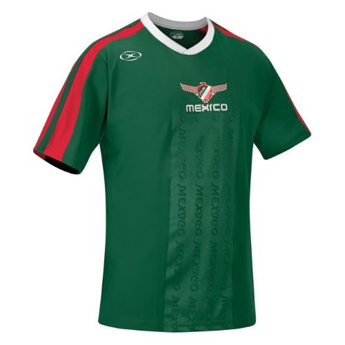 Xara International Series Mexico Short Sleeve Jersey, Youth Large
