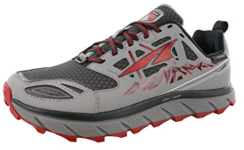Altra Footwear Lone Peak 3.0 Neoshell Trail Running Shoe - Men's 10 Grey/Red