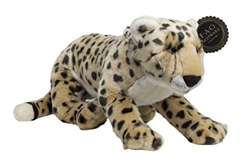FAO Schwarz Spotted Cheetah Stuffed Animal Toy Plush 18