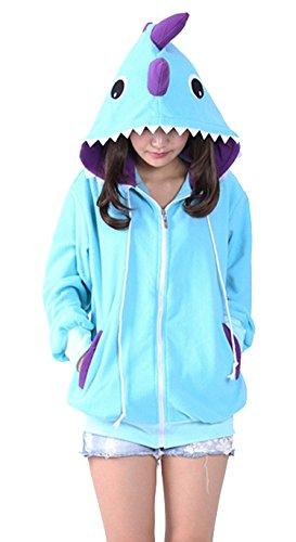 Pijama Dinosaurios Disfraz Niño Niña Animal Cuerpo Entero Mujer Familiar Navidad Halloween Cosplay