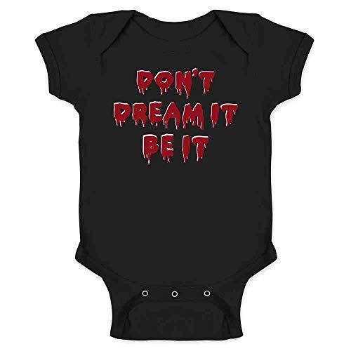 Don't Dream It Be It Halloween Black 12M Infant Bodysuit