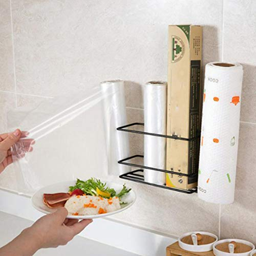 - Finedayqi  Kitchen Racks Debris Storage Rack Bathroom Paper Towel Roll Holder