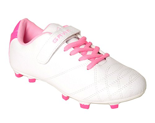 Shoes Girls Soccer Kid Big Kid Gavin Little Lightweight Lace Up White w1p4qEH