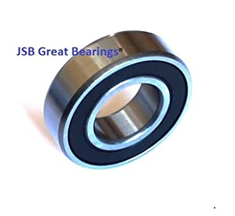 10mm*30mm*9mm 6200-2RS 6200RS Deep Groove Rubber Shielded Ball Bearing