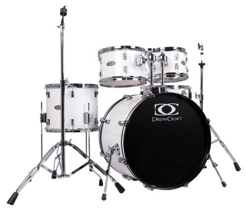 Drum Craft DC803032 Series 3 Fusion Drum Set - Snow White by Drum Craft