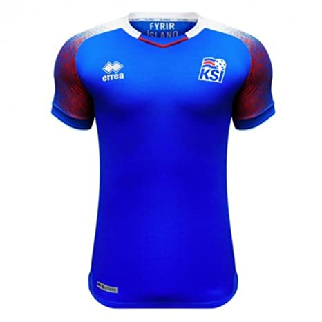 61649c95d8f Amazon.com : 2018-2019 Iceland Home Errea Football Soccer T-Shirt Jersey (Gylfi  Sigurdsson 10) : Sports & Outdoors