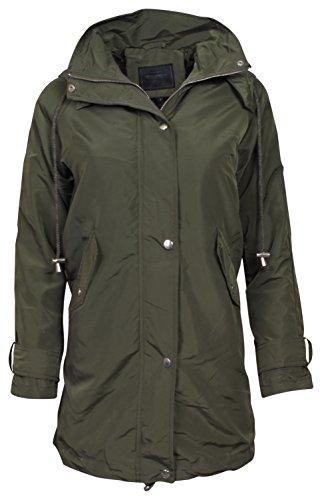 Green Womens Raincoat - 3