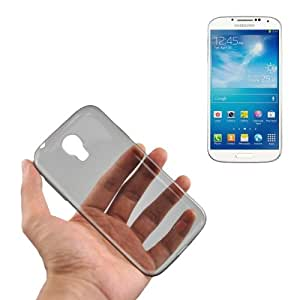 0,45 mm Ultra-thin Polycarbonate Material TPU & Jelly Case-Carcasa para Samsung Galaxy S4 i9500 (Grey %2F)