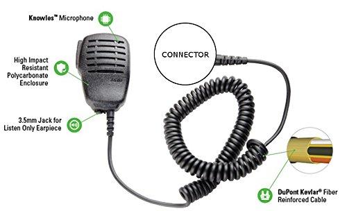 ARC S10009 Compact S10 Speaker Mic for Relm BK Radio GPH DPH Series Two -