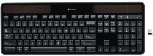 Logitech Wireless Solar Keyboard K750 - for Windows (Renewed)