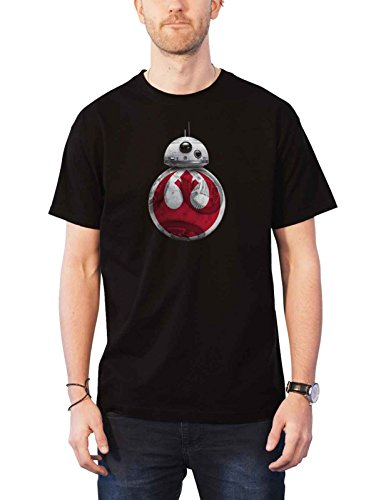 스타 워즈 T 셔츠 마지막 제다이 BB-8 저항 에피소드 VIII / Star Wars T Shirt Last Jedi Bb-8 Resistance Episode Viii 公式 メンズ