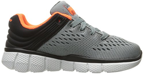 Skechers Equalizer 2.0-Post Season, Zapatillas para Niños Gris (Ccbk)