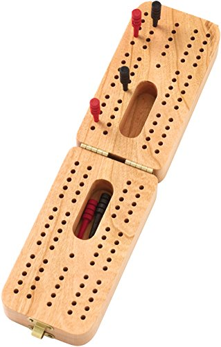Folding Standard Cribbage Board - Made in USA by Maple Landmark