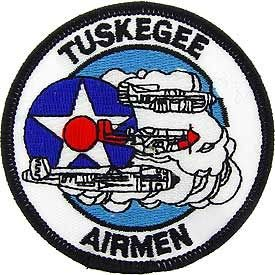 USAF, Tuskegee AIRM. - Embroidered Patches, Premium Quality Iron On Patch - 3