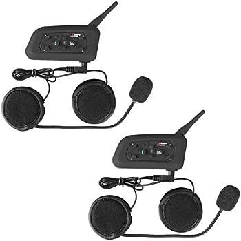 Motorcycle Helmet Bluetooth Technology Headset Intercom Full-face Sport Speaker Low Profile Wireless Headphone 6 Riders Communicator 500m Talk for Riding, ...
