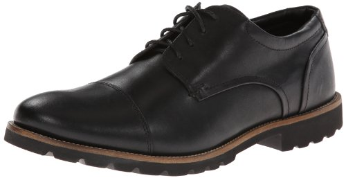 Rockport Men's Channer Black 10.5 W (EE)-10.5 W