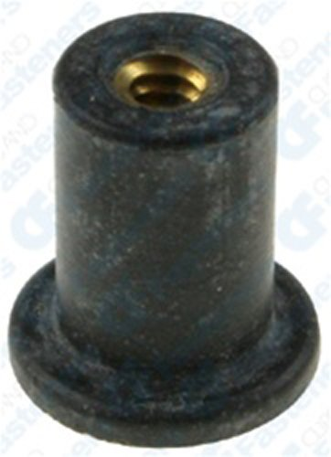 Dia Well (25 Well Nuts #6-32 Thread .452 Head Dia. Clipsandfasteners Inc)