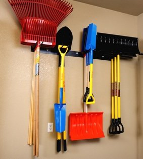 Rough Rack 4x4 Tool Rack (Shovel Rack Wall)