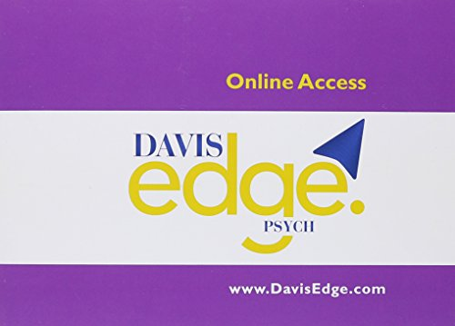 Davis Edge for Psych (Access Card) by F.A. Davis Company