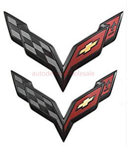 corvette flag emblem - 5
